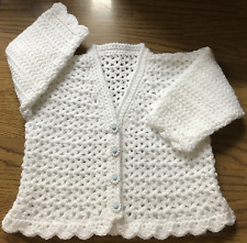 Patrón de ganchillo Cardigan Para Bebé/niño (nacimiento - 6 años) en DK (1013)