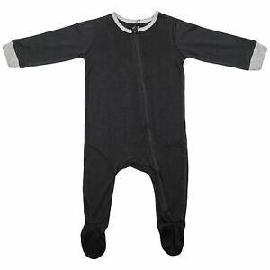 Kids Girls Boys Baby Rompers Black Sleepsuits Toddlers Bodysuits Jumpsuit 0-3 Yr