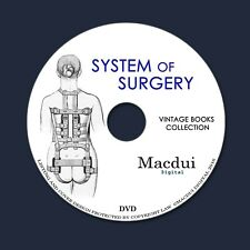 System of Surgery Pathology Bacteriology Infections Vintage Ebooks 4 PDF 1 DVD