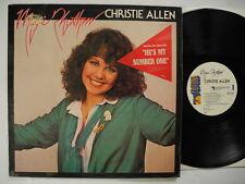 CHRISTIE ALLEN Magic Rhythm LP 1979 Sweden Swedish Frituna EX shrink