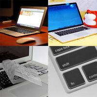"Hot Clear TPU Keyboard Cover Skin for APPLE Macbook Pro /Retina 13"" 15""  Air 11"""
