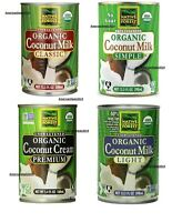 Native Forest Organic Coconut Milk - Unsweetened Classic, Simple, Light & Cream