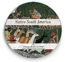 Rare Books on DVD - Ancient South America Aztec Inca Mayan Tribes Art Beliefs G6