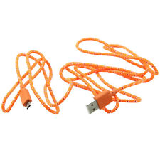 T8 Micro USB 2.0 Charging Sync Data Cable Cord For Samsung Galaxy 2M Orange M