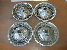 "70 72 74 75 Dodge Dart Charger Valiant Barracuda Hubcap Wheel Cover 14"" WIRE SET"