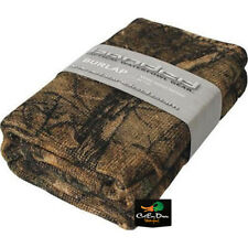 NEW BANDED GEAR BURLAP BLIND MATERIAL XTRA CAMO 12'
