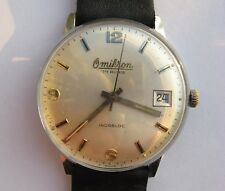 OMIKRON FHF 96-4 mechanical hand winding Swiss watch from 1969. year