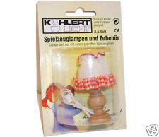 Tischlampe für Puppenhaus/ Puppenstube, Kahlert 10401