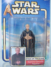 SUPREME CHANCELLOR PALPATINE #39~ Star Wars Saga 2002~ MOC~ Attack of The Clones