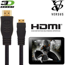 Versus Touchpad 7, 8DC, 9.7, 10.1DC Tablet PC HDMI TV 2.5m Gold Wire Lead Cable