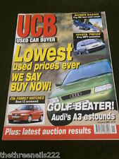 USED CAR BUYER - AUDI A3 - JAN 2000