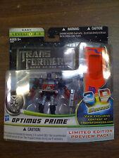 Transformers DOTM Optimus Prime Preview 3D Glasses NEW FREE SHIP US