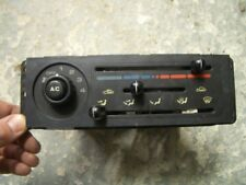 MAZDA MX5/EUNOS ROADSTER HEATER & AIR CONDITIONING CONTROLS