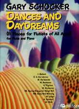 """""""Dances And Daydreams"""" for Flute and Piano Music Book-Brand New On Sale-Schocker"""