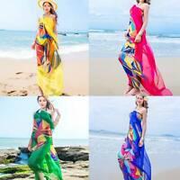 140X190Cm Scarf Women Beach Sarongs Beach Cover Up Summer Sunscreen Chiffon N6I9