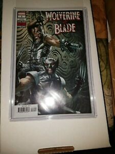 Wolverine vs. Blade Special #1 Dell'Otto 1:50 Variant-NM-in Hard Plastic Sleeve
