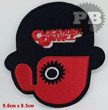 #2137 CLOCKWORK ORANGE Droog Iron On Sew On Embroidered Applique Badge
