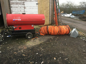 Phoen110 Arcotherm Indirect Diesel marquee warehouse 106kw portable Space heater