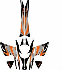 2003 to 2009  SKI DOO REV SNOWMOBILE SLED GRAPHIC WRAP DECALS