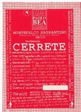 PAOLO BEA CERRETE MONTEFALCO SAGRANTINO 2009 (750ml)