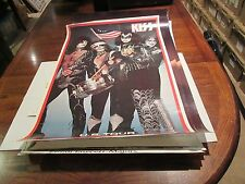 "KISS , POSTER , US TOUR , 23"" x 35"" , 1976"