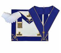 Masonic Regalia CRAFT PROVINCIAL UNDRESS APRON AND COLLAR PACKAGE LAMBSKIN