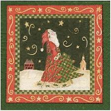 Alice's Cottage Starry Nights Paper Cocktail Napkins Christmas FREE US SHIPPING