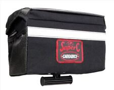 NEW Carradice Super C Bike Handlebar Bag Cotton Duck Klickfix Fittings TOURING