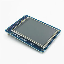 1Stk 2.4Inch TFT LCD Module Display with Touch Panel 240x320 Screen SD Card Cage
