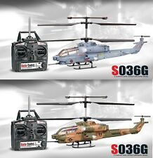Syma S036G Cobra AH-1 RC Radio Remote Control MARINA MILITARE ESERCITO ELICOTTERO