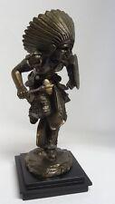 RT Pearce Bronze Art Sculpture Native American indian Dance Figurine Statue ✔