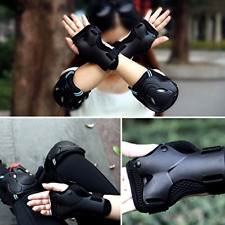 Protective Gear Skateboard Kids Skate Wrist Knee Elbow Pads Guards Armour Under