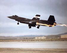 SR-71 Blackbird Afterburner Takeoff 8x10 Silver Halide Photo Print