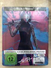 Alita: Battle Angel - Limited 4-disc Steelbook Edition