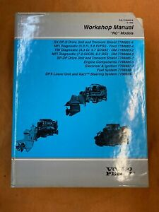 Volvo Penta NC models service manual set part #7788880