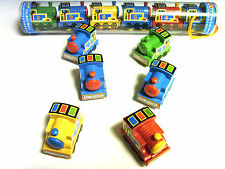 6 x Pull Back Giocattoli Treni, Set in Tubi, Young Children's Wind Up Toys ty1248