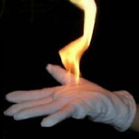 2Pcs Fire Gloves Magic Tricks Burning Gloves Empty-Handed For Magicians Stage A!