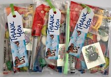 Moana Birthday party bags,pre filled sweet toys,tattoo,colouring,boy/girls