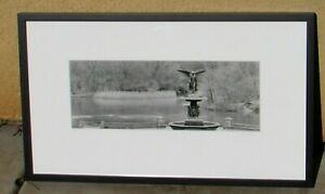 LYLE GOMES S/N Silver Gelatin Photo Angel of the Waters Central Park