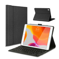 DEUTSCHE Tastatur für 2019 iPad 7th Gen 10,2 QWERTZ Keyboard Case Schutz Hülle