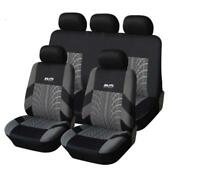Classic Washable Embroidery Car Seat Covers Set with Headrest Covers Universal