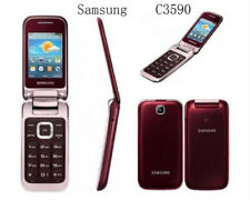 Samsung GT-C3590 Red Unlocked 3G Free shipping