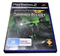 SOCOM US Navy Seals Combined Assault PS2 PAL *No Booklet*