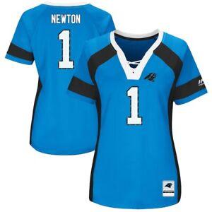 NFL Women's Shirt Carolina Panthers Draft 2017 Cam Newton Women's Girls Ladies