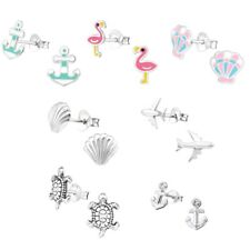 Vacation Vibes Hypoallergenic 925 Sterling Silver Stud Earrings For Kids/Girls