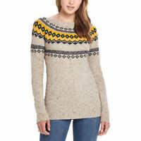 NEW! SALE! Weatherproof Vintage Ladies' Fairisle Sweater - VARIETY SZ/CLR D23