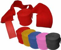 Boxing Hand Wraps Bandages Fist Boxing Inner Gloves Muay Thai MMA Cotton 4.5m