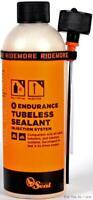 Orange Seal Endurance 8oz Tubeless Bike Tire Sealant w/ Injector Bottle Road MTB