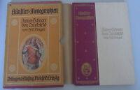 Künsterler Monographien ~Julius Schnorr von Cralsfeld~ H.W.Singer/Pappschuber