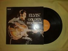 Elvis Presley- Golden Records Vol.1 Original 1970 Lp VG+ Vinyl / VG Album Cover